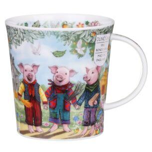 Fairy Tales Three Little Pigs Lomond Shape Mug