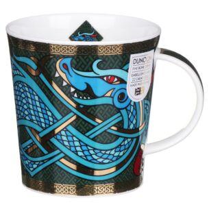Dragons Green Lomond Shape Mug