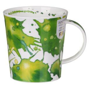 Splosh! Green Lomond Shape Mug