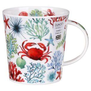Under The Sea Red Lomond Shape Mug