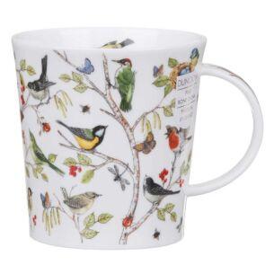 Secret Wood Woodpecker Lomond Shape Mug