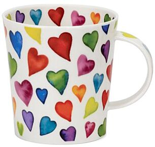 Warm Hearts Lomond shape Mug