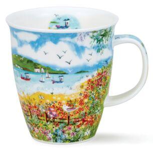 Coastal View Garden Nevis Shape Mug