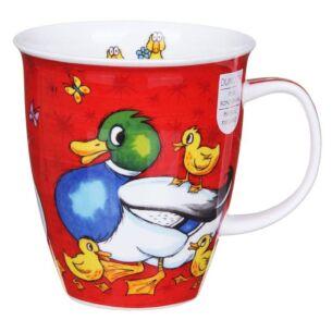 Barmy Farmy Duck Nevis Shape Mug