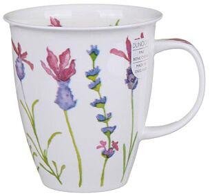 Flora Lavender Nevis shape Mug