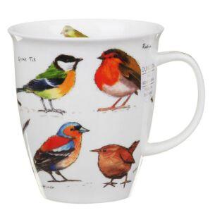 Garden Birds Nevis Shape Mug