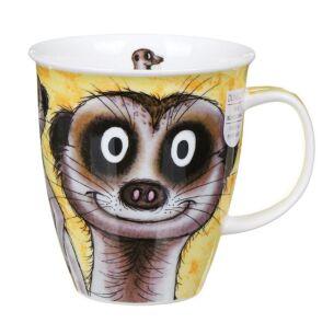 Go Wild Meerkat Nevis Shape Mug