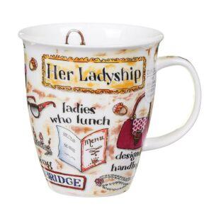 Her Ladyship Nevis Shape Mug