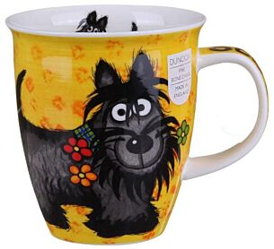 Highland Gang Scottie Nevis shape Mug