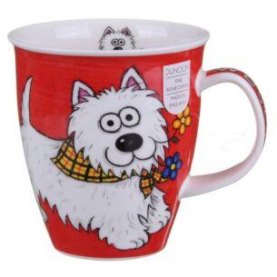 Highland Gang Westie Nevis shape Mug