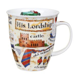 His Lordship Nevis Shape Mug
