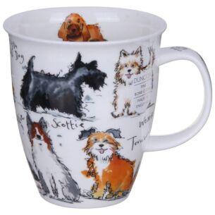 Messy Dogs Nevis Shape Mug