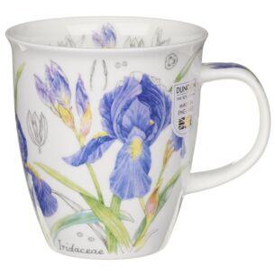 Floral Sketch Iris Nevis Shape Mug