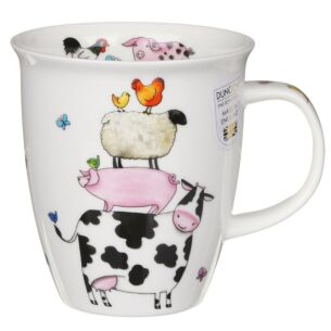 High Climbers Cow Nevis Shape Mug