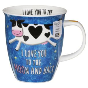 Loved Up Cow Nevis Shape Mug