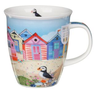 Shoreline Beach Hut Nevis Shape Mug