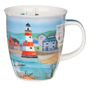 Shoreline Lighthouse Nevis Shape Mug