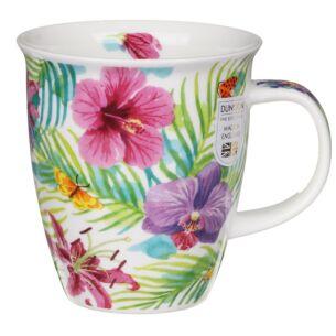 Tropicana Pink Nevis Shape Mug