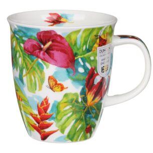 Tropicana Red Nevis Shape Mug