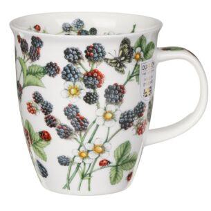 Dunoon Wild Fruits Blackberry Nevis Shape Mug