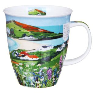 Sea View Island Nevis Shape Mug