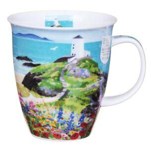 Dunoon Sea View Lighthouse Nevis Shape Mug