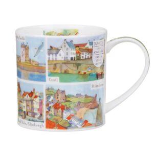 Eastern & Central Scotland Orkney Shape Mug