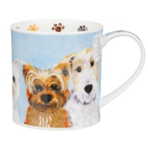 Dunoon Furry Friends Dog Orkney Shape Mug