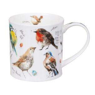 Garden Birds Orkney Shape Mug