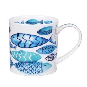 Dunoon Go Fish Orkney Shape Mug