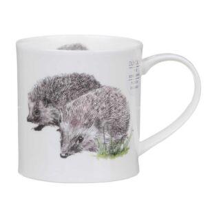 Hannah Longmuir Hedgehog Orkney Shape Mug