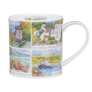 The Lake District Orkney Shape Mug
