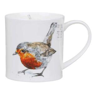 Hannah Longmuir Robin Orkney Shape Mug