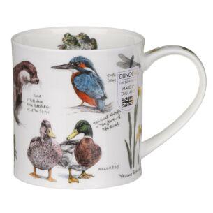 Country Notebook Riverbank Orkney Shape Mug