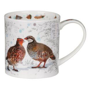 Dunoon Gamebirds Partridge Orkney Shape Mug