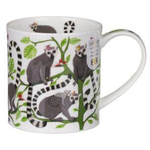 Dunoon Hang Out Lemur Orkney Shape Mug