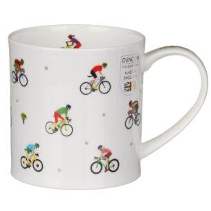 Dunoon Sport Stars Cycling Orkney Shape Mug