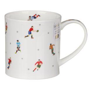 Dunoon Sport Stars Rugby Orkney Shape Mug