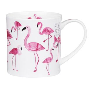 Dunoon Pretty in Pink Orkney Shape Mug