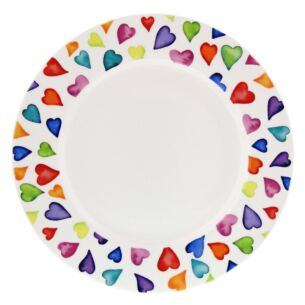 Dunoon Warm Hearts 22cm Boxed Cake Plate