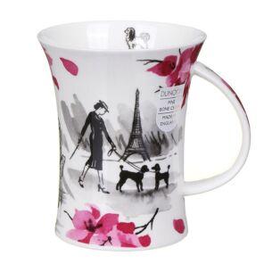 Dunoon Cosmopolitan Paris Richmond Shape Mug