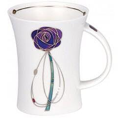 Dunoon Melrose Purple Richmond shape Mug