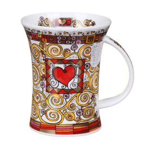 Romantique Red Richmond Shape Mug