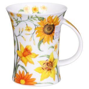 Sissinghurst Yellow Richmond Shape Mug