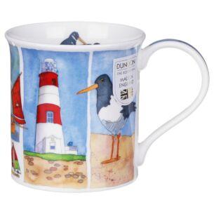 Sandy Bay Lighthouse Bute shape Mug