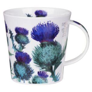 Scottish Thistle Cairngorm shape Mug