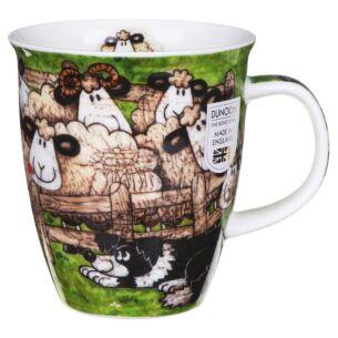 Sheepies Pen Nevis shape Mug