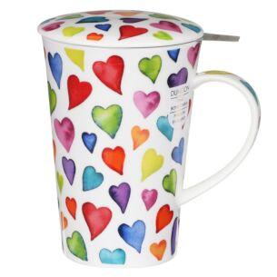 Warm Hearts Shetland Tea Infuser Set