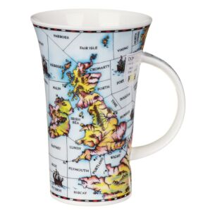 Shipping Forecast Glencoe shape Mug