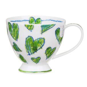 Dunoon Amora Green Skye Teacup Mug